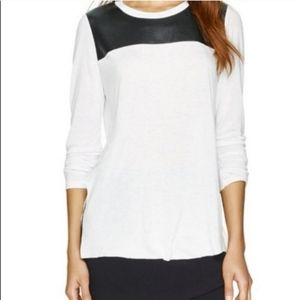 Aritzia Wilfred free long sleeve top with slits